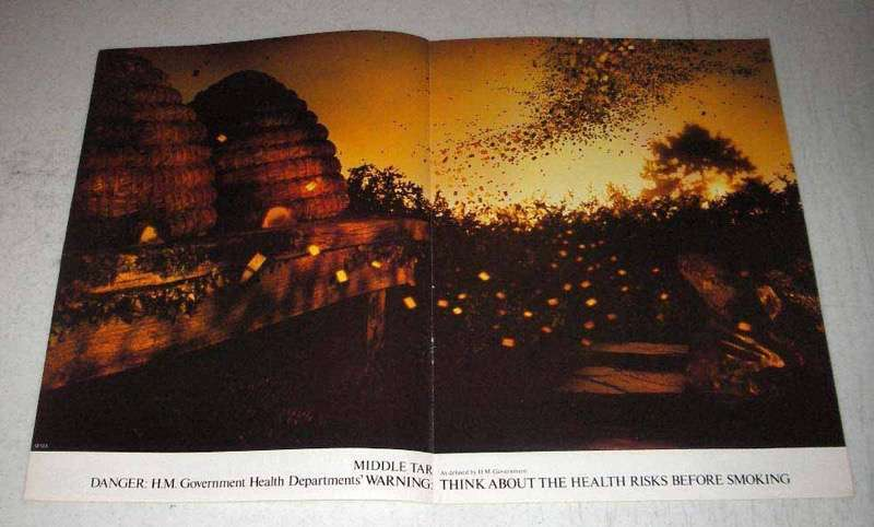 1982 Benson & Hedges Cigarettes Ad - Bees