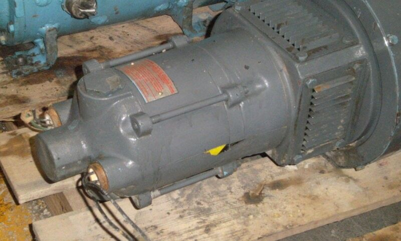 Louis Allis 7 5hp Direct Current Motor W Explosion Proof