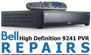 BELL PVR RECEIVER REPAIRS 9241 9242 9400 and 6400