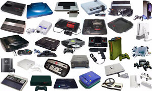 Will buy video games and consoles for old to new
