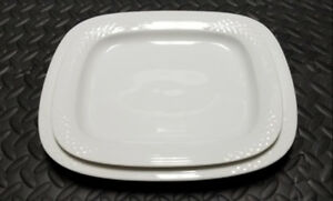 """Bianca Scala Glossy By HUTSCHENREUTHER 12"""" and 13"""" Platters"""