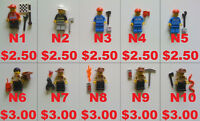 Lego Figures, New & Used -- #2 --