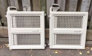 Safety first baby security gates - set of 3