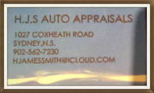 MOTOR VEHICLE APPRAISAL