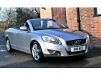 2011 VOLVO C70 D4 SE LUX AUTOMATIC CONVERTIBLE. 59000 MILES