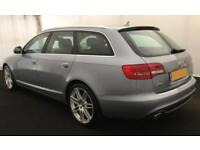 2011 SILVER AUDI A6 AVANT 2.0 TDI S LINE SPECIAL EDITION CAR FINANCE FROM 29 P/W