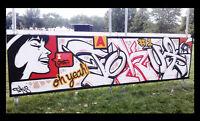 Artiste Graffiteur, Muraliste, Oeuvre d'art, Toile, Canvas