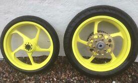 Magnesium Race Wheels came off Honda CBR