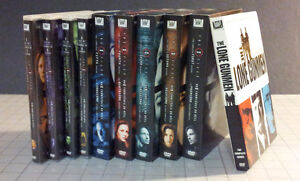 X-Files DVDs
