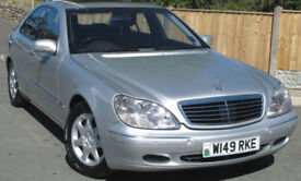 Mercedes-Benz S500 saloon : 86k mi : Big Spec : Great Condition