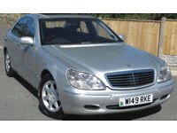 Mercedes-Benz S500 saloon : 86k mi : Big Spec : Great Condition
