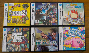Various Nintendo DS Games (Kirby Mass Attack, Heracles, etc)