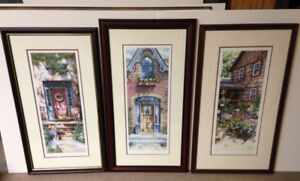 Laura Berry Limited Edition Prints - Triology of Verticals