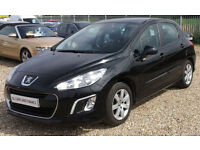 Peugeot 308 1.6HDi ( 92bhp )Active. GUARANTEED FINANCE payment between £38-£76PW