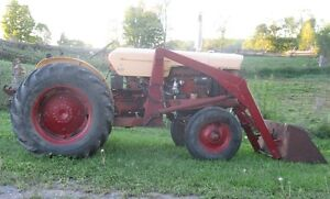 630 Case tractor and loader