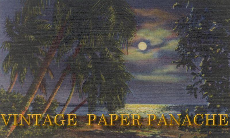 vintage paper panache
