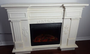 Grand Fireplace with heating unit