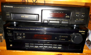 Pioneer Audio/Video Amp - Reciever and 6 pack CD player