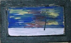 Original Art - PRAIRIE TREE - painting ---Christmas Gift