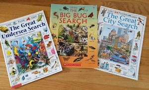 Kids I Spy/Search Books with Facts