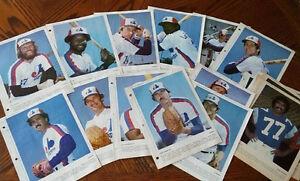Photo Dimanche /Derniere Heure 1980  Canadiens-Expos