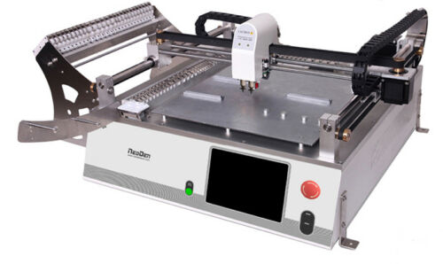 SMD SMT Desktop Pick and Place Machine NeoDen3Vwith vision, 23 feeders-J