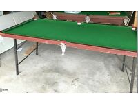 Six pocket Snooker/pool Table in immaculate condition