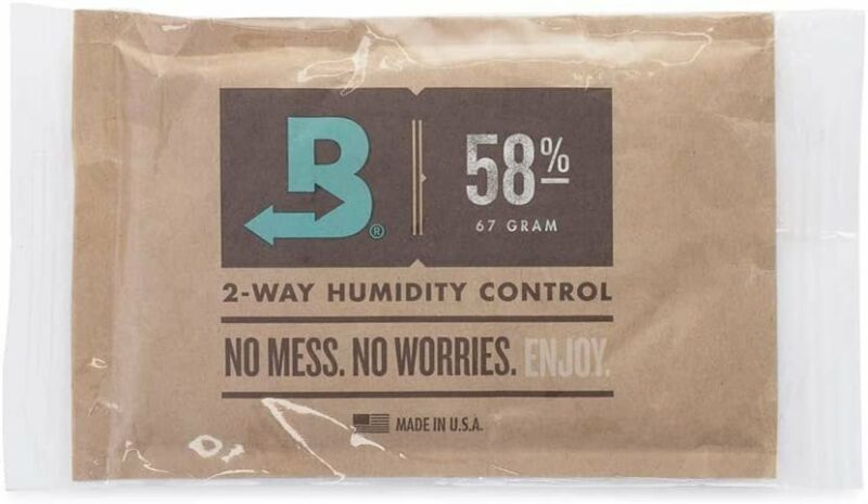 Boveda 58% RH 2-Way Humidity Control   Size 67 Protects Up to 1 Lb   1-Count