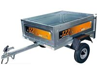 Erde 122.2 Classic camping car Box Trailer BRAND NEW STILL BOXED