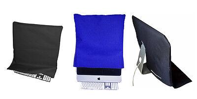 "Apple iMac 20"" or 21.5"" Screen & Keyboard Dust Cover Protector Mac - BLACK"