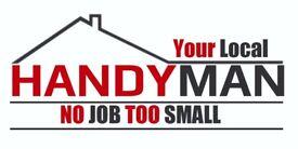 No job too big or too small! Your local handyman!