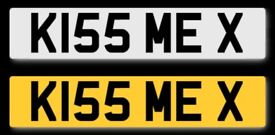 ***AMAZING CHRISTMAS PRESENT*** K155 MEX - CHERISHED NUMBER PLATE - KISS ME X