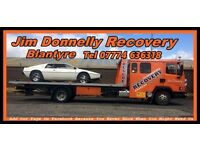 Jim Donnelly Breakdown Recovery Blantyre