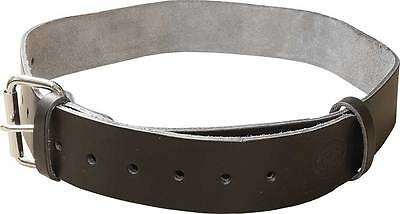 Connell Of Sheffield Black Premium Leather Scaffolding Tool Work Belt - Uk Made