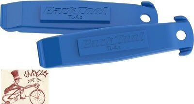 PARK TOOL TL-4.2 BLUE NYLON BICYCLE TIRE LEVERS