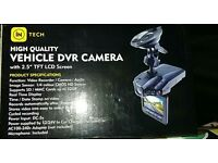 """Dash camera with 2.5"""" TFT LCD screen"""
