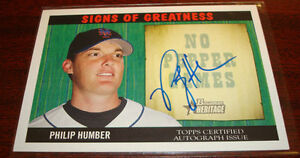 2005-BOWMAN-HERITAGE-PHILIP-HUMBER-METS-SIGNED-AUTOGRAPH-WHITE-SOX ...