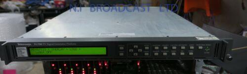 Tektronix TG700 SPG with 3G hd3g7, option, HDSDI option and analog for test