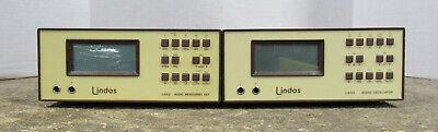 Lindos La100 Audio Analyzer La101 Audio Oscillator La102 Audio Measuring Set