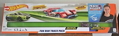 Hot Wheels Fox Run Track Pack Track Builder System Exclusive Green Track