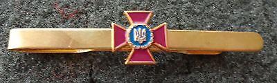 Ukraine ukrainian  red cross    TIE HOLDER PIN made in Russia   #2