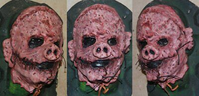 Scary Masks Australia (HORROR PIG MASK CUSTOM HALLOWEEN PIG SCARY BUTCHER SLASHER ED GEIN SERIAL)