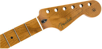 "Genuine Fender Roasted Maple Stratocaster Neck, 9.5"" Maple, C Shape 099-0502-920"