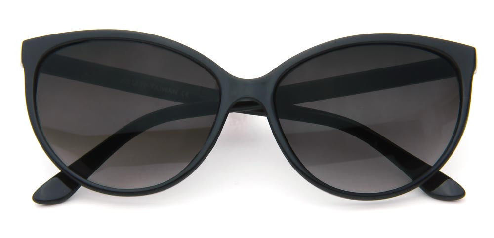 Black Cat Eye Sunglasses Classic Designer Women Retro Fashion Shades Eyewear