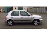 2001 Nissan Micra 1.0 16v SE 5dr,Full Service History, £ 999