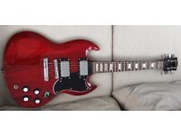 Gibson SG style 6 string electric guitar