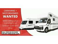 Caravans and motor homes BOUGHT