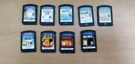 9 PS Vita games 100 pounds