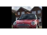 Mini one 1.6 convertible red only 55,000 miles . 2005. Burgess Hill. Electric roof, air con,