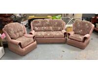 Suite of furniture 3 seater and 2 armchairs